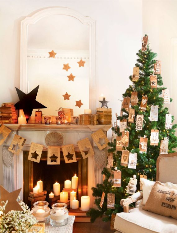 Stunning CHRISTMAS MANTEL DECORATING Ideas 3