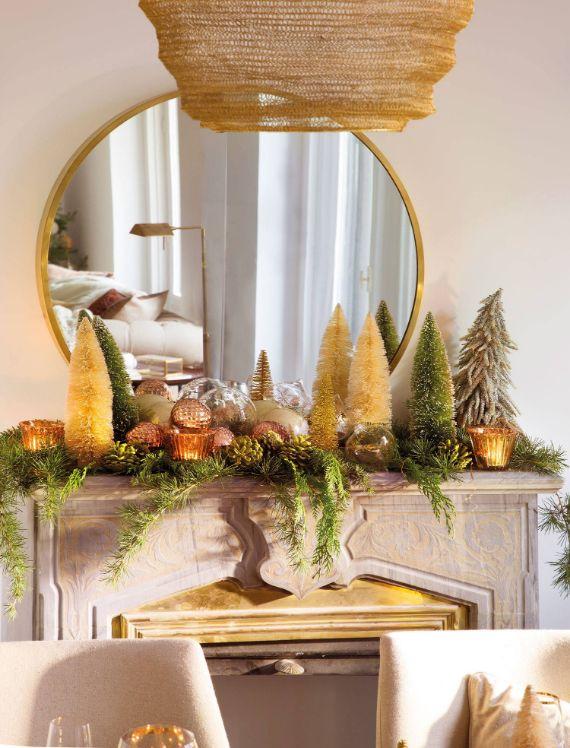 Stunning CHRISTMAS MANTEL DECORATING Ideas 4