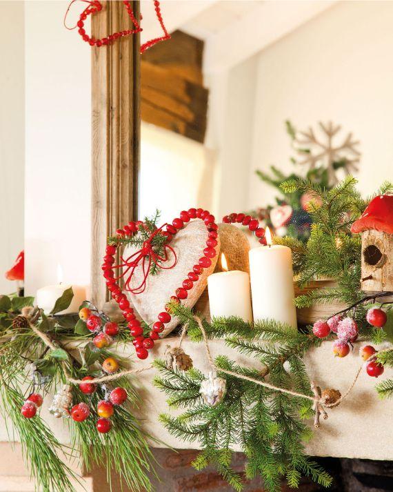 Stunning CHRISTMAS MANTEL DECORATING Ideas 6