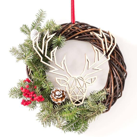 Unique WREATH Ideas to Inspire You This CHISTMAS 30