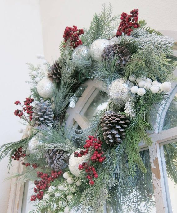 Unique WREATH Ideas to Inspire You This CHISTMAS 35
