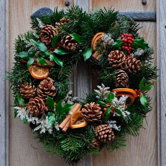 Unique WREATH Ideas to Inspire You This CHISTMAS 40