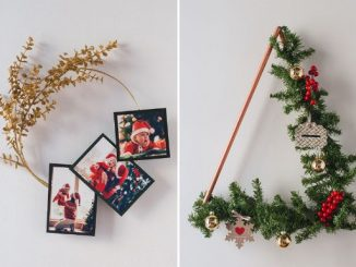 Christmas wreath for DIY lovers