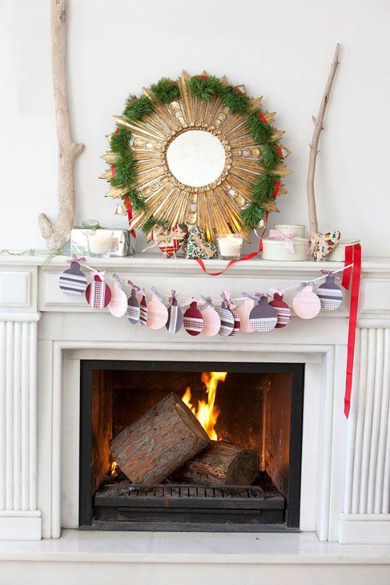 unique wreath for Christmas 15