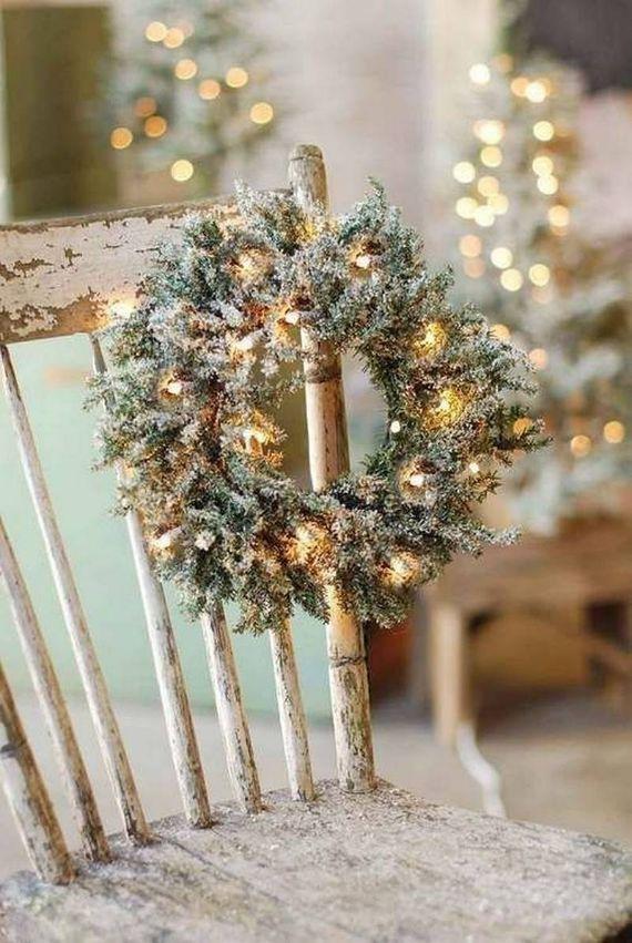 unique wreath for Christmas 26