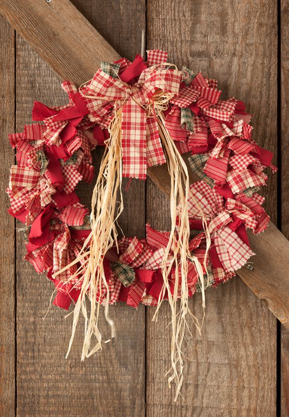 unique wreath for Christmas 3