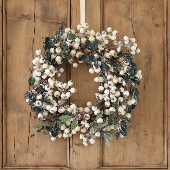 unique wreath for Christmas 37