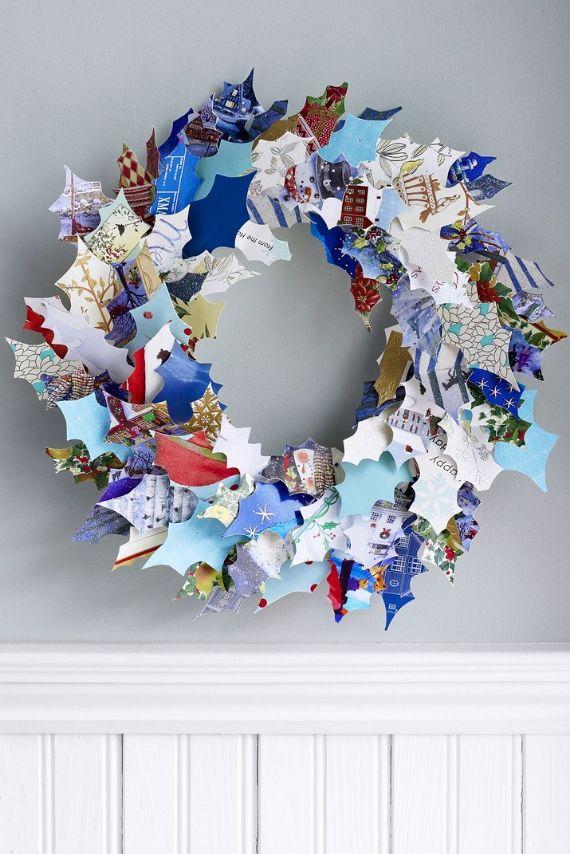unique wreath for Christmas 41