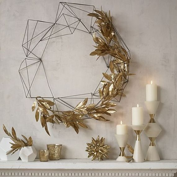 industrial style Christmas decorations 1