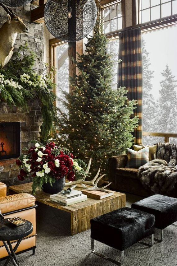 Christmas home decorating style