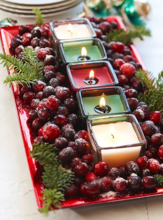 Cranberry Centrepiece