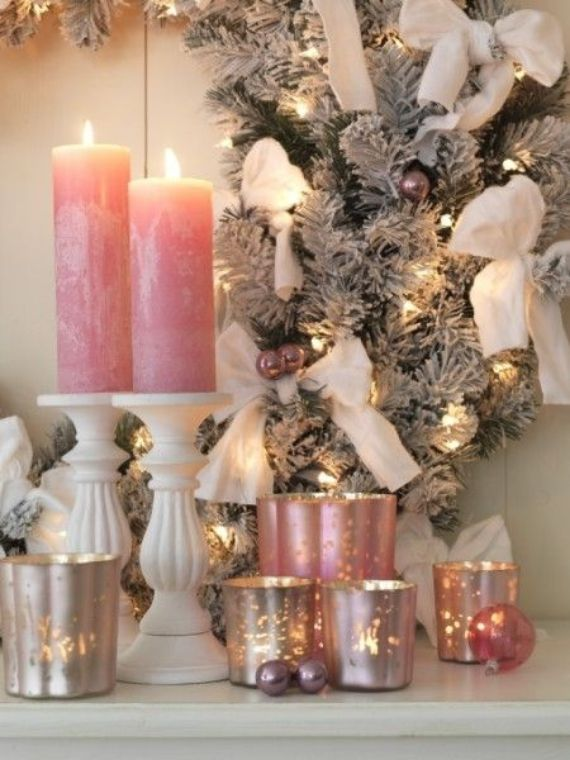 Pink-Candlelight – romantic christmas (1)