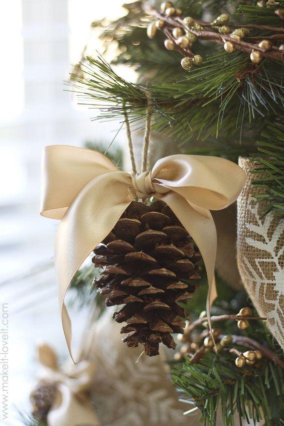 Pretty Pinecone Ornaments