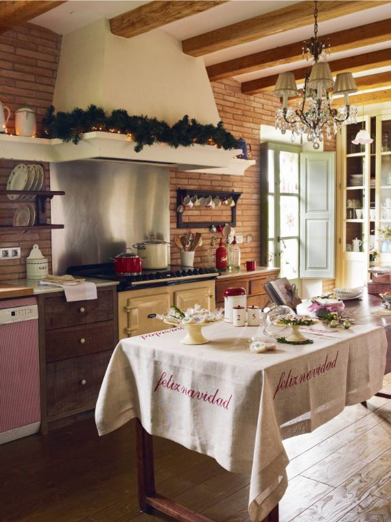 christmas kitchen 9