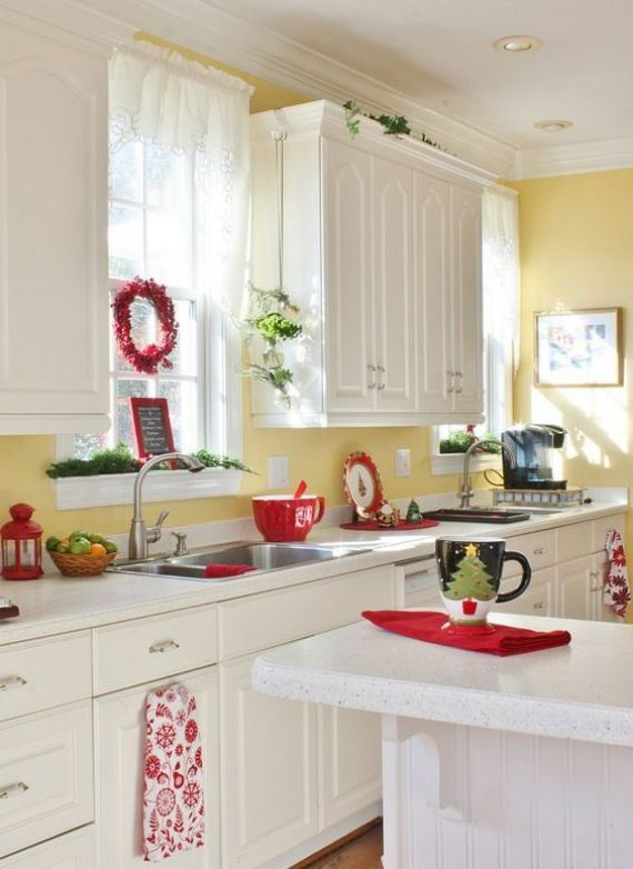 red-cups-napkins-a-berry-wreath-and-evergreens-for-a-light-Christmas-feel-in-the-space