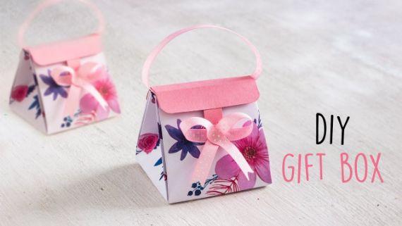 DIY Gift Box _ Paper Boxes _ DIY Activities