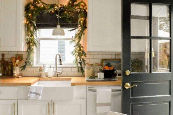 christmas kitchen 6