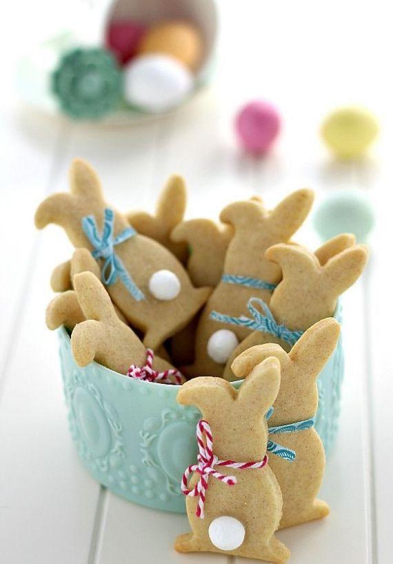 EasterShapedCinnamon Cookies
