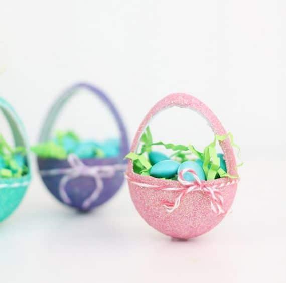 Paper Mache Easter Baskets (1)