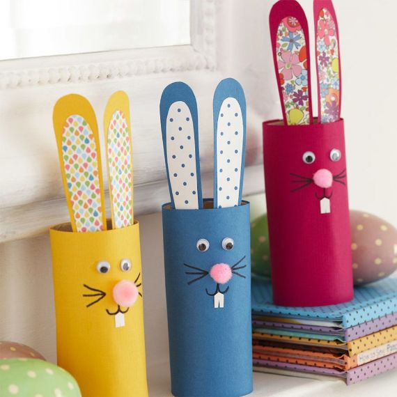square toilet-roll-rabbit-craft-project