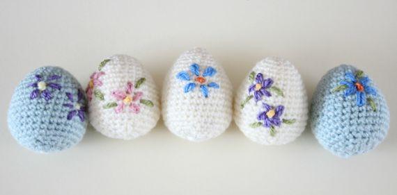 Amigurumi Easter Eggs (1)