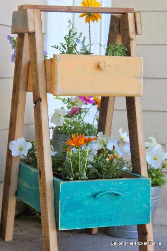 Beautiful-Upcycled Drawer Planter Decorating-Ideas-26-1-Kindesign