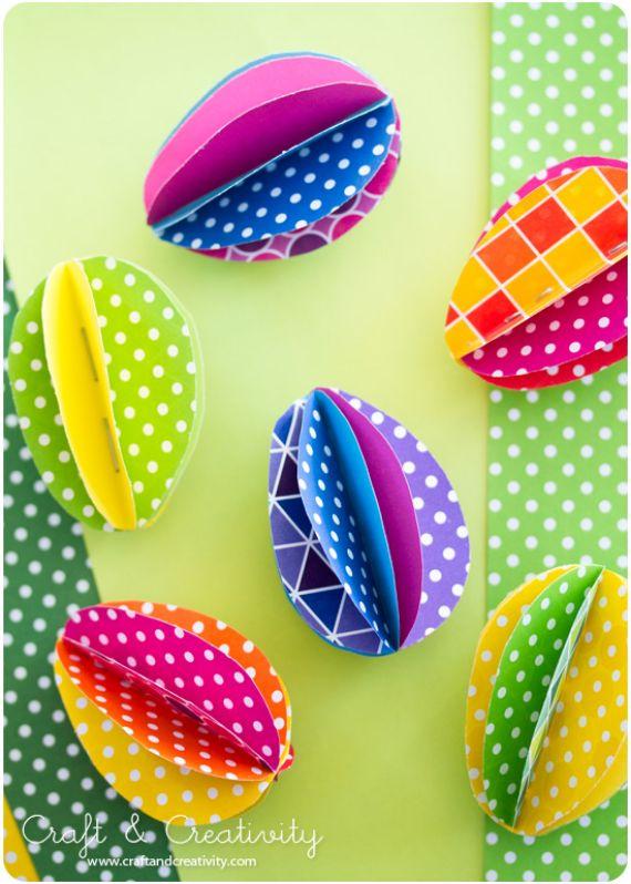 DIY Easter Origami Eggs (1)