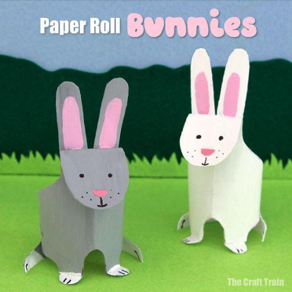 Paper Roll Bunnies (2)