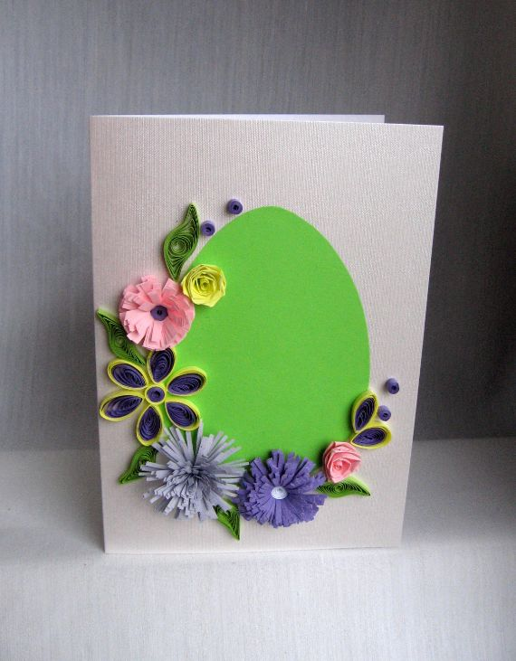 Quilling Easter Card (1)
