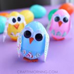Creative Craft Ideas to make out of plastic Easter eggs