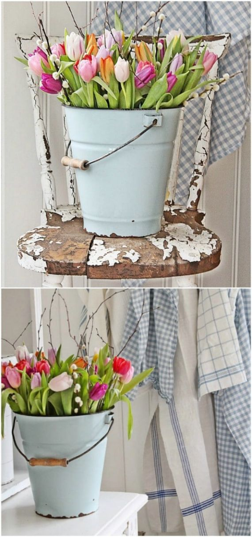 tulip-bucket-diyncrafts-spring-porch-decorations