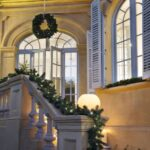 Christmas Wreaths for the Staircase