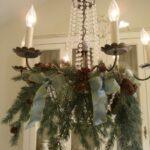 Wreath Kitchen Chandelier