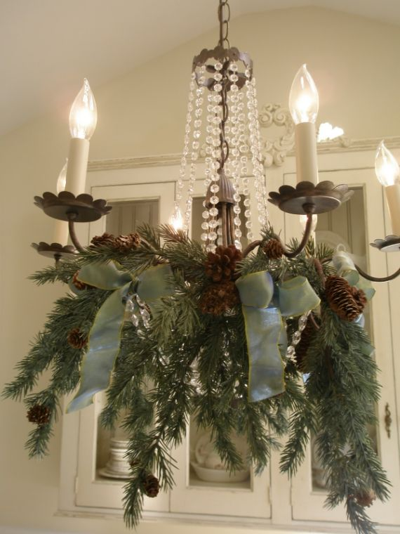 Wreath Kitchen Chandelier