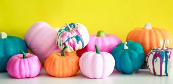 Cheerful Halloween Decor Ideas For Unexpected Colorful Halloween